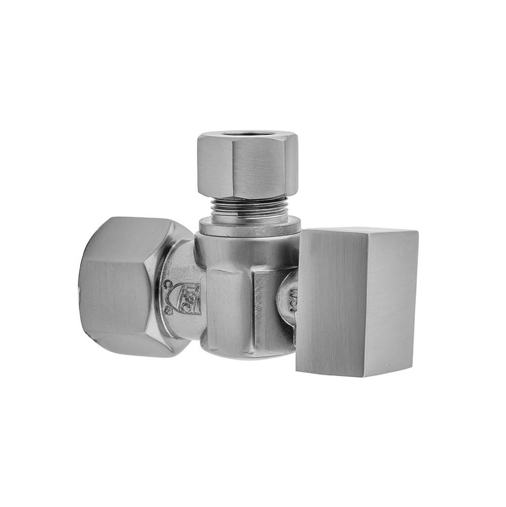 Antique Copper Standard Plumbing Supply Compression Valve Kit with Contemporary Square Lever Handle Jaclo 619-6-71-ACU 1//2 IPS x 3//8 O.D