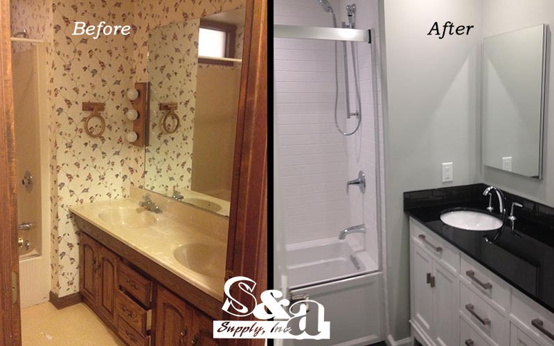 Before & After Bath Remodel